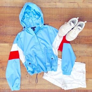 ⭐️Retro-Look Wind Breaker Jacket | Let's Sail ⛵️